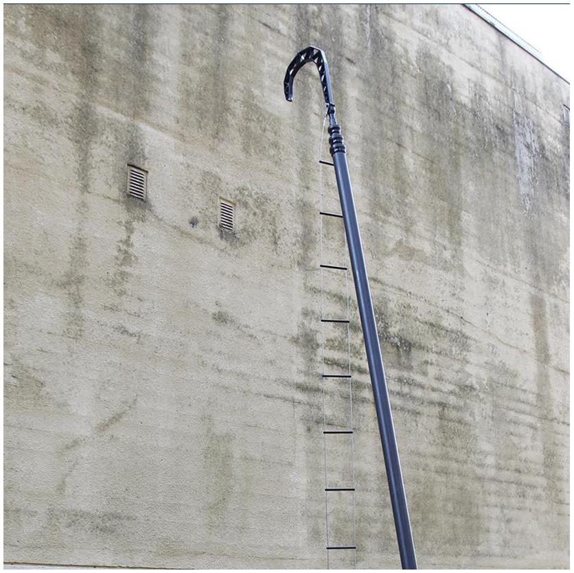 pneumatic pole
